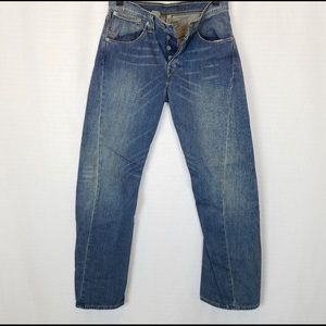 Rare Levi's engineer men's jeans size:30